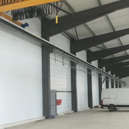 TEMPO 400 laqué blanc / 2 500 m² / Bâtiment SOFOP, réalisé par la société CIAM / Olemps (12)